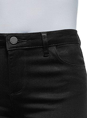 Jeans Ultra Media Vita A Skinny Oodji Donna 2900w Nero AzSq7