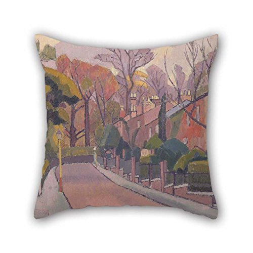 (eyeselect The Oil Painting Spencer Frederick Gore - Cambrian Road, Richmond Pillowcase of 20 X 20 Inches / 50 by 50 cm Decoration Gift for Girls Club Dinning Room Husband Valentine Sofa (Twin Sides))