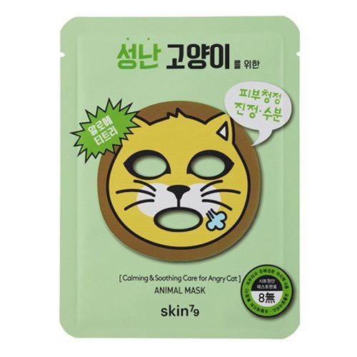skin79 Mask Angry Cat (2 unidades, 23 g) 521