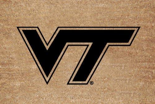 Virginia Tech Flocked Door Mat