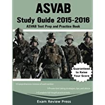 ASVAB Study Guide 2015-2016: ASVAB Test Prep and Practice Book
