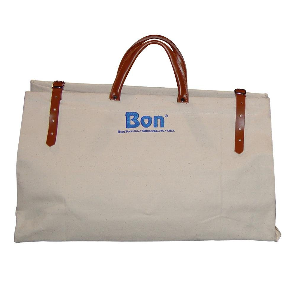Amazon.com  Bon Tool 20 in. Canvas Tool Bag with Leather Straps  Home    Kitchen abe7cb3346dd7