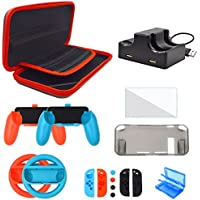 Eovola Accessories Kit for Nintendo Switch Games (17 In 1)
