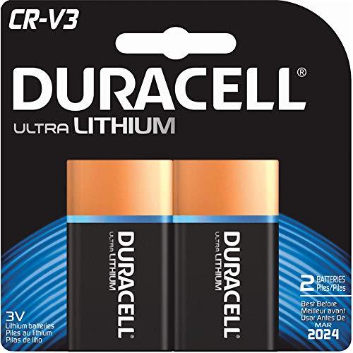 Duracell Ultra Digital Camera Battery Cr-V3 Batteries 2 Count