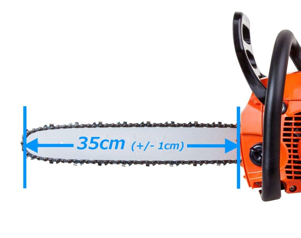"35cm 3//8LP/"" 52TG 1,1mm 1 Sägekette passend Husqvarna 120i"