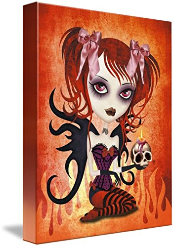 Imagekind Wall Art Print entitled Fallen Angel by SANDRA VARGAS | 36 x (Fallen Angel Halloween Hair)
