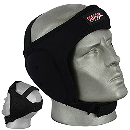 Wrestling Ear Guard MMA Grappling Ears Protector Boxing UFC Head Gear Guard