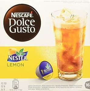 Nescafé Dolce Gusto Nestea Lemon, Paquete de 3, 3 x 16 Cápsulas