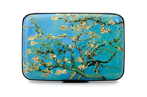 "Credit Card Case (Armor Wallet) ""Almond Blossoms "" By Van Gogh"