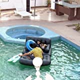 Bestway 5 in 1 Inflatable Sofa Air Bed Couch with Free Electric Pump - Black