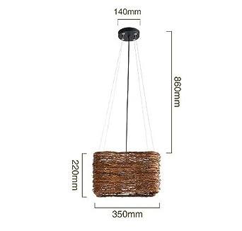 Amazon.com: Moderna lámpara colgante – lámpara de techo ...