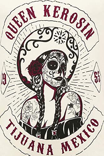 Tijuana Bianco Kerosin Mexico Felpa Queen rosso qxa65Znn