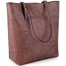 Jack&Chris®Women Genuine Leather Tote Bag Handbag Shoulder Bag,YSZ112