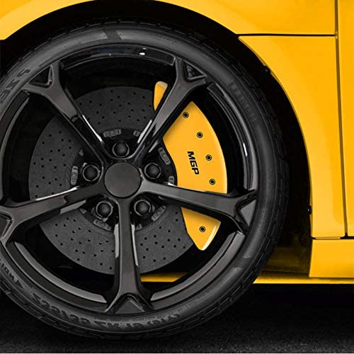 Upgrade Your Auto Yellow Caliper Covers Set of 4 Engraved MGP for 2019 Ford Edge ST
