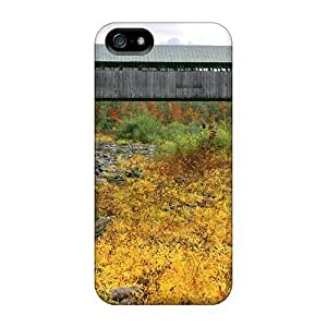 Awesome Case Cover/iphone 5/5s Defender Case Cover(covered Bridge At North Blenheim) Kimberly Kurzendoerfer