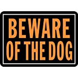 "Hy-Ko 838 Beware of the Dog Sign, 10"" x 14"""