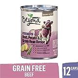 Purina Beyond Grain Free, Natural Pate Wet Dog Food, Grain Free Beef, Potato & Green Bean Recipe - (12) 13 oz. Cans Larger Image