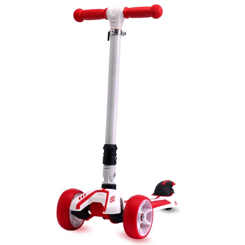 子供赤折りたたみスクーター、3-12歳 B07R4H1C62 B07R4H1C62, ベップシ:e5bad166 --- artefbahia.com.br
