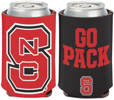 NCAA North Carolina State Wolfpack 1 Pack 12 oz 2-Sided Can Cooler