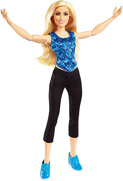 WWE Superstar Charlotte Flair 12 INCH FASHION DOLL Wrestling Barbie Figure Raw