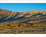 10x8 Print of Landscape Mountain Range, South Eureka Dunes Road Scenery (18241803)