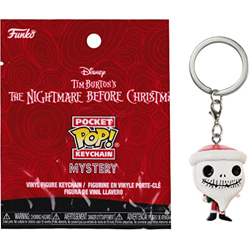 Santa Jack: The Nightmare Before Christmas x Funko Mystery Pocket POP! Mini-Figural Keychain [24316]