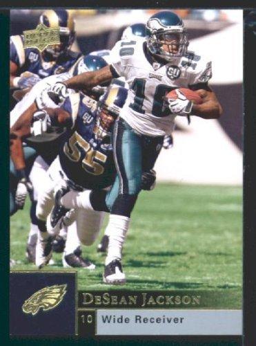 DeSean Jackson - Eagles - 2009 Upper Deck NFL Trading Card