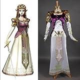 ETASSO-The-Legend-of-Zelda-Prinzessin-Zelda-Cosplay-Kostme-Cosplay-Kleid-Halloween-Kostm