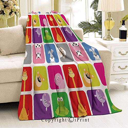 Boy and Girl Blanket,Anti-Pilling,Suitable for Many Seasons,36