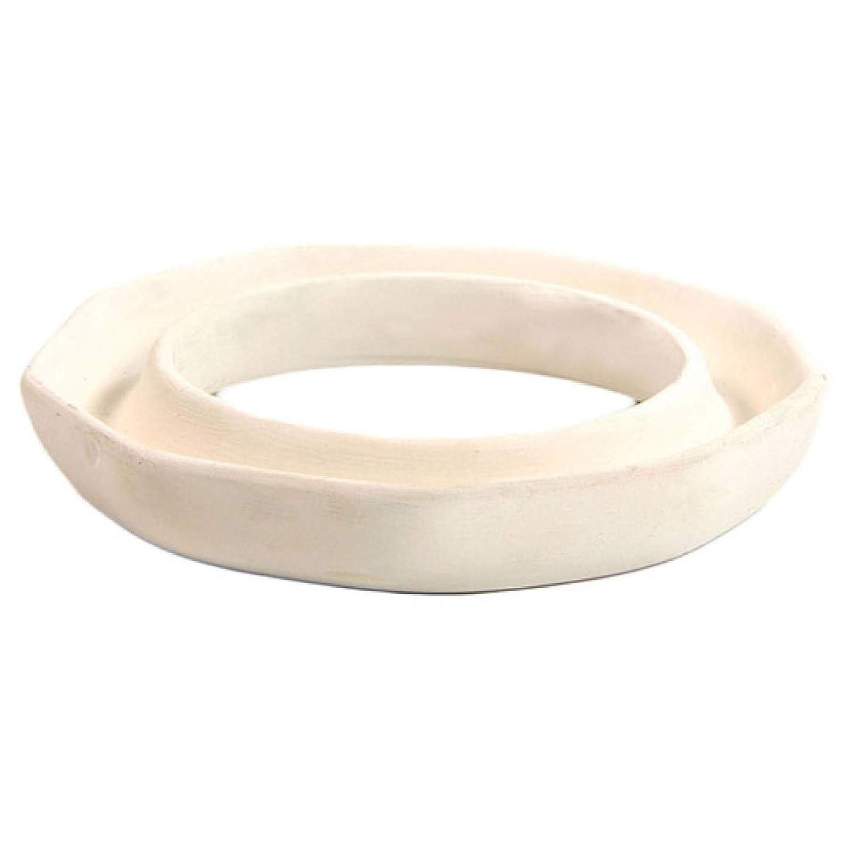 Aura Cacia Ceramic Lamp Ring - Octagon