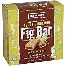 Nature's Bakery Whole Wheat Fig Bars - Apple Cinnamon - 6 ct