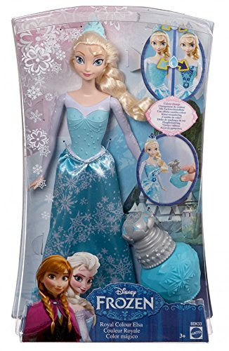 Disney Frozen Royal Color Change Elsa Doll ()