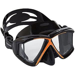 Cressi PANO 4, Wide View Scuba Dive & Snorkeling Mask - Cressi