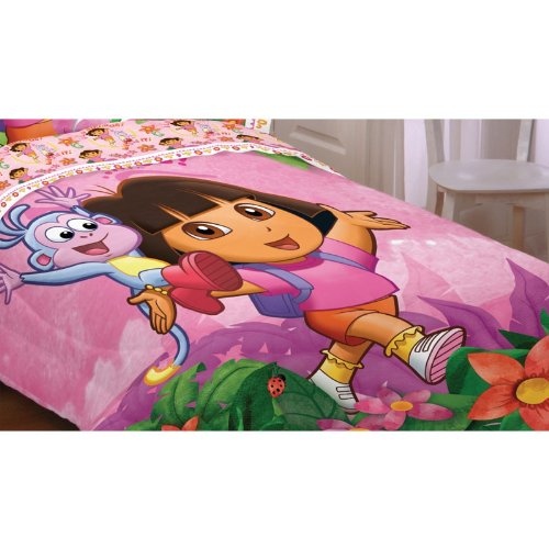 in/Full Comforter - Run, Skip, Jump (Dora The Explorer Quilt)