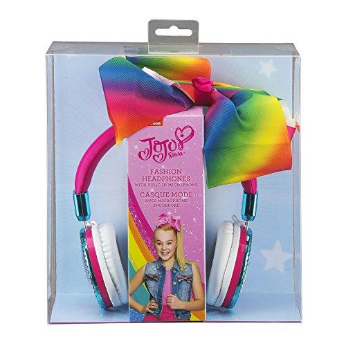 JoJo Siwa Bow Fashion Headphones with built in Microphone by eKids (Image #6)
