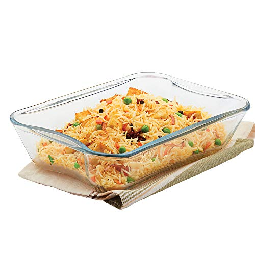 Borosil – IH22RCR7215 Rectangular Baking Dish, Glass – Oven and Microwave Safe, 1.5L Price & Reviews