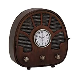 Benzara 97275 Fascinating Styled Berlin Metal Table Clock