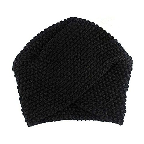(CHIDY Fashion Women Ladies Warm Winter Knitted Hat Cap Solid Color Knit Cap Walking Cap Sleeping Hat)