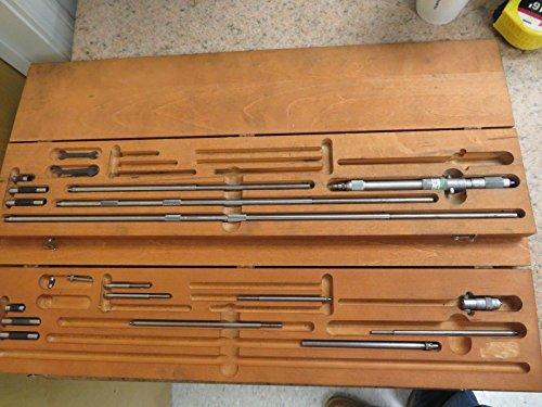 124-c 2 Starrett Inside Micrometer Sets -