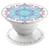 PopSockets: Collapsible Grip & Stand for Phones and Tablets - Flower Mandala
