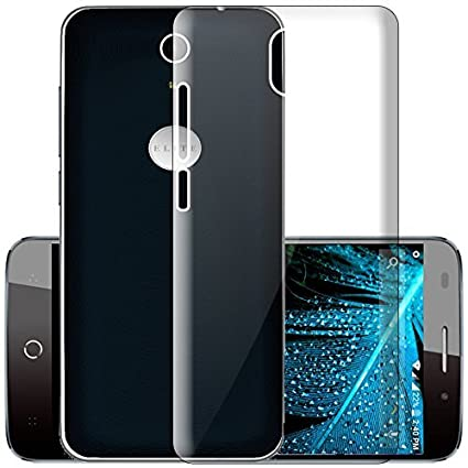 check out 76ff3 43d94 ECellStreet® Silicone Soft Back Cover for Swipe Elite Plus (Transparent)