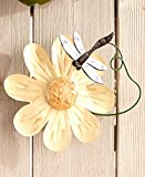 The Lakeside Collection Flower Garden Wall Spinners
