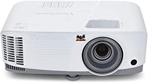 ViewSonic 3800 Lumens XGA High Brightness Projector Projector for Home and Office with HDMI Vertical Keystone and 1080p Support (PA503X), White