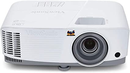 Opinión sobre Viewsonic PA503S Proyector SVGA (DLP, 800 x 600, 3.600 ANSI Lumens, Contraste 22.000:1, HDMI, 2 W), Color Gris/ Blanco
