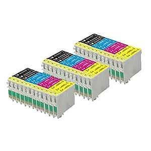 36 ECS Cartuchos de tinta compatibles 18 X L para impresoras Epson ...