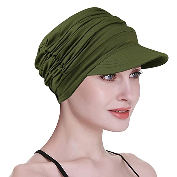 05f545f778035 FocusCare Cowboys Cap,Summer Protecting Sun Cool Bamboo Knitting Headwear  Army Green: Amazon.ca: Clothing & Accessories