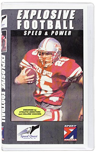 Youth League Explosive Football:  Speed & Power [VHS] by Sportamerica