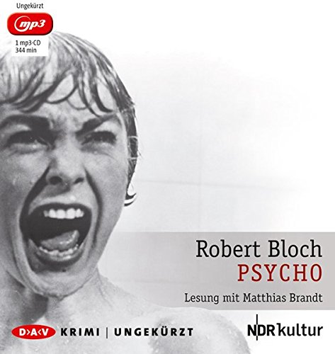 Psycho (mp3-Ausgabe): Ungekürzte Lesung mit Matthias Brandt (1 mp3-CD)
