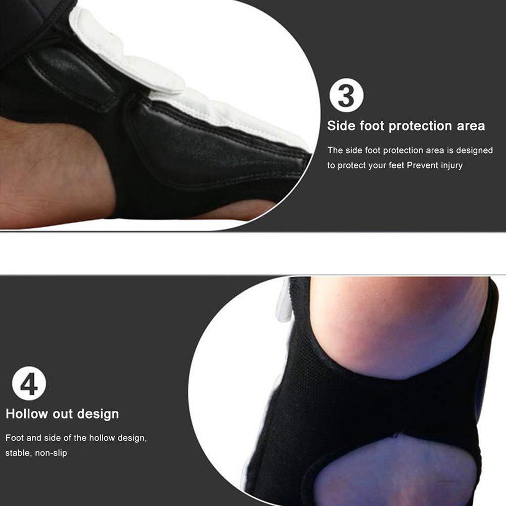 Men Women Adult Kids Taekwondo Foot Protector Sparring Protective Gear Sandbag FRIDG Foot Wraps Boxing Inner Mitts