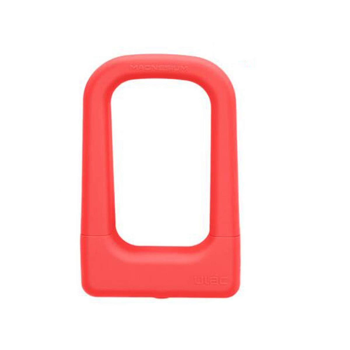 Pink Qiyuezhuangshi Sturdy and Practical ULock for Mountain Bikes, Electric Cars, Motorcycles, Size  4.8  2  8 Inches, color  Black, blueee, orange Environmental Predection